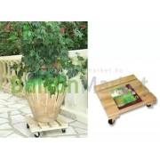 Flora roll Garden Görgős cserépalátét