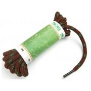 PROMA Šněrovadla (tkaničky) SPORT kulatá 170p3816 hnědo-tm.zelená 140 cm