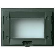 Supporto Vimar Idea supporti 3 moduli IP55 colore grigio 16813.Q