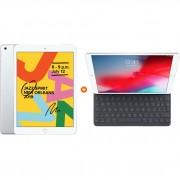 Apple iPad (2019) 128 GB Wifi Zilver + Smart Keyboard