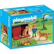 Catelusi cu jucarie Playmobil