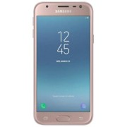 "Telefon Mobil Samsung Galaxy J3 (2017), Procesor Quad-Core 1.4GHz, PLS capacitive touchscreen 5"", 2GB RAM, 16GB, 13MP, 4G, Wi-Fi, Dual Sim, Android (Roz)"