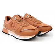 Tommy Hilfiger pink sneakers with platform Active Feminine City Sneaker Copper Canyon