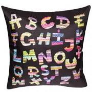 Fata de perna decorativa model alfabet material textil multicolor Maxx 43 x 43 cm