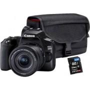 Canon Cámara Réflex CANON EOS 250D + EF-S 18-55 + SB130 (Negro - 24.1 MP - Sensor: APS-C - ISO: 100 a 25600)