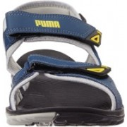 Puma Men glacier gray-poseidon-dandelio Sports Sandals