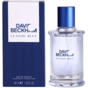 David Beckham Classic Blue Eau de Toilette para homens 40 ml