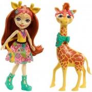 Enchantimals - Gillian Giraffe állatkával