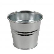 Dille&Kamille Pot de fleur, zinc, naturel,Ø 14,5 cm