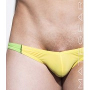 Mategear Roe Yeon Ultra Low Rise Front Ultra Bikini Swimwear Yellow 1930901