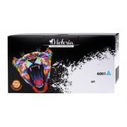 Q6001A Lézertoner ColorLaserJet 2600, 2600N, 2605 nyomtatókhoz, VICTORIA 124A, cián, 2k (TOHP6001V)
