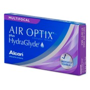 Air Optix plus HydraGlyde Multifocal (6 лещи)