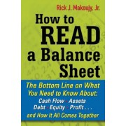 How to Read a Balance Sheet: The Bottom Line on What You Need to Know About: Cash Flow, Assets, Debt, Equity, Profit... and How It All Comes Togeth, Paperback
