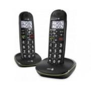 PhoneEasy 110 DECT Identification de l'appelant Noir