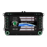 Sistem Navigatie Audio Video cu DVD Skoda Octavia 2 + Cadou Card GPS 8Gb