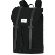 Sandqvist Stig Canvas Backpack Black