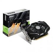 MSI NVIDIA GTX 1050 2G OC grafische kaart (HDMI, DP, DL-DVI-D, 2 Slot Afterburner OC, VR Ready, 4K-geoptimaliseerd)