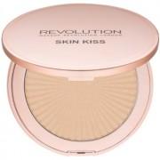 Makeup Revolution Skin Kiss iluminador tono Golden Kiss 14 g