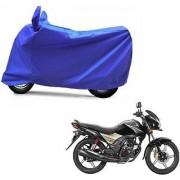 Intenzo Premium Full Blue Two Wheeler Cover for Honda CB ShineSP