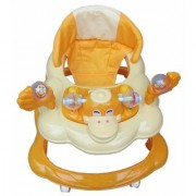 Oh Baby Baby Duck Shape Adjustable Musical Yellow Color Walker For Your Kids LIM-PBF-Se-W-71