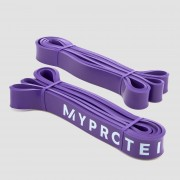 Myprotein Resistance Bands - Purple / 11-36Kg (Pair) - Multi