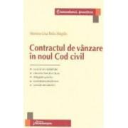 Contractul de vanzare in noul Cod civil - Monna-Lisa Belu Magdo