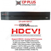 CP PLUS 8 Channel 720P HDCVI DVR CP-UVR-0801C1