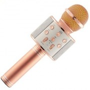Rechargable Karaoke Music With Handheld Mike / Mic With Bluetooth Speaker Portable Multi-function Wireless