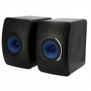 KEF LS50 Wireless Gloss Black set d'enceintes