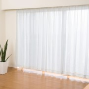 見えにくい遮熱レースカーテン高級仕様150cm2枚組【QVC】40代・50代レディースファッション