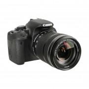 Canon Cámara Reflex Canon EOS 700D Plata + Objetivo EF S 18-135 IS STM