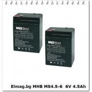 MHB 2x6V 4.5Ah (KIT1-1)
