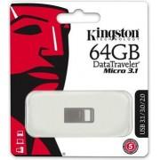 USB memorija 64 GB Data Traveler Micro USB 3.1/3.0 Type A Metal black
