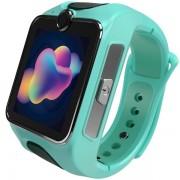 """Smartwatch MyKi Junior SE, Procesor Dual-Core 1.2GHz, Display TFT LCD 1.4"""", Wi-Fi, Bluetooth, 3G, Camera, dedicat pentru copii (Verde)"""
