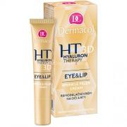Dermacol Hyaluron Therapy 3D Eye & Lip Cream 15ml Грижа за очите за Жени Моделиращ крем за очи и устни