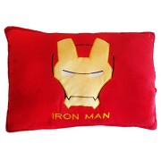 """Super Hero Marvel Avengers Pillow Plush Toy Super Cute 20""""x12"""" Imported Best Quality Cartoon Action Soft Toys Figure (Iron Man)"""