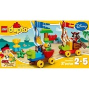 Jake Beach Racing Set: 37 with Accessories Include 2 Flags, a Flower, Trophy and a Transparent LEGO DUPLO Brick