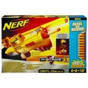 Nerf N-Strike Deploy CS-6 Dart Blaster - Refill and Reload