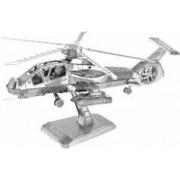 Playtastic Maquette 3D en métal : Hélicoptère - 41 pièces