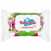 Servetele Umede cu Provita B5 si Vit E Fara Alcool Fresh Baby Wish 72 Buc