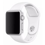SERO Armband För Apple Watch I Silikon, 42/44mm, Vit