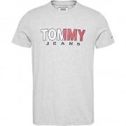Tommy Jeans T-Shirt Uomo Colored, Taglia: S, Per adulto Uomo, Bianco, DM0DM07440-P01