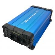 Tiszta szinuszú feszültség átalakító inverter 12v - 3000/6000W kijelzővel