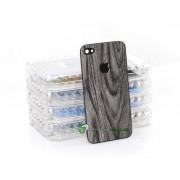 iPhone 4 Bakstycke Wood (Svart)