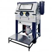 SOGI Sabbiatrice cabina di sabbiatura a pressione professionale con doppio aspiratore SOGI S-218P