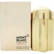 Mont Blanc Montblanc Emblem Absolu Eau De Toilette 100ml Sprej