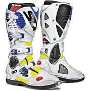 Sidi Crossfire 3 Motocross Boots White Blue 45