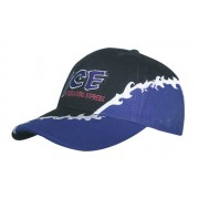 Headwear Professional Six Panel Brushed Heavy Cotton Cap With Rift Embroidery 4179