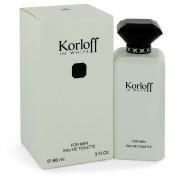 Korloff In White Eau De Toilette Spray 3 oz / 88.72 mL Men's Fragrances 544213