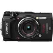 Aparat Foto Digital Compact Olympus Tough TG-5 Negru